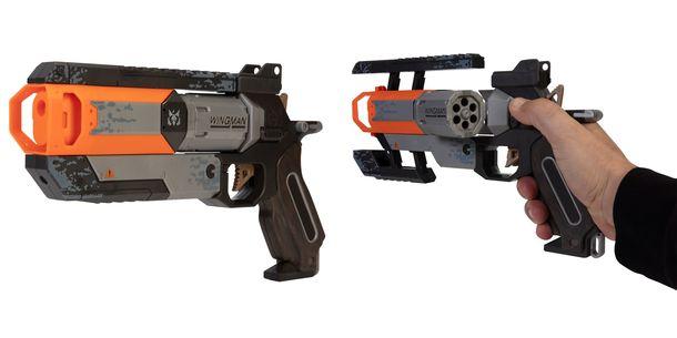 ウイングマン1分の1サイズのリアルな銃