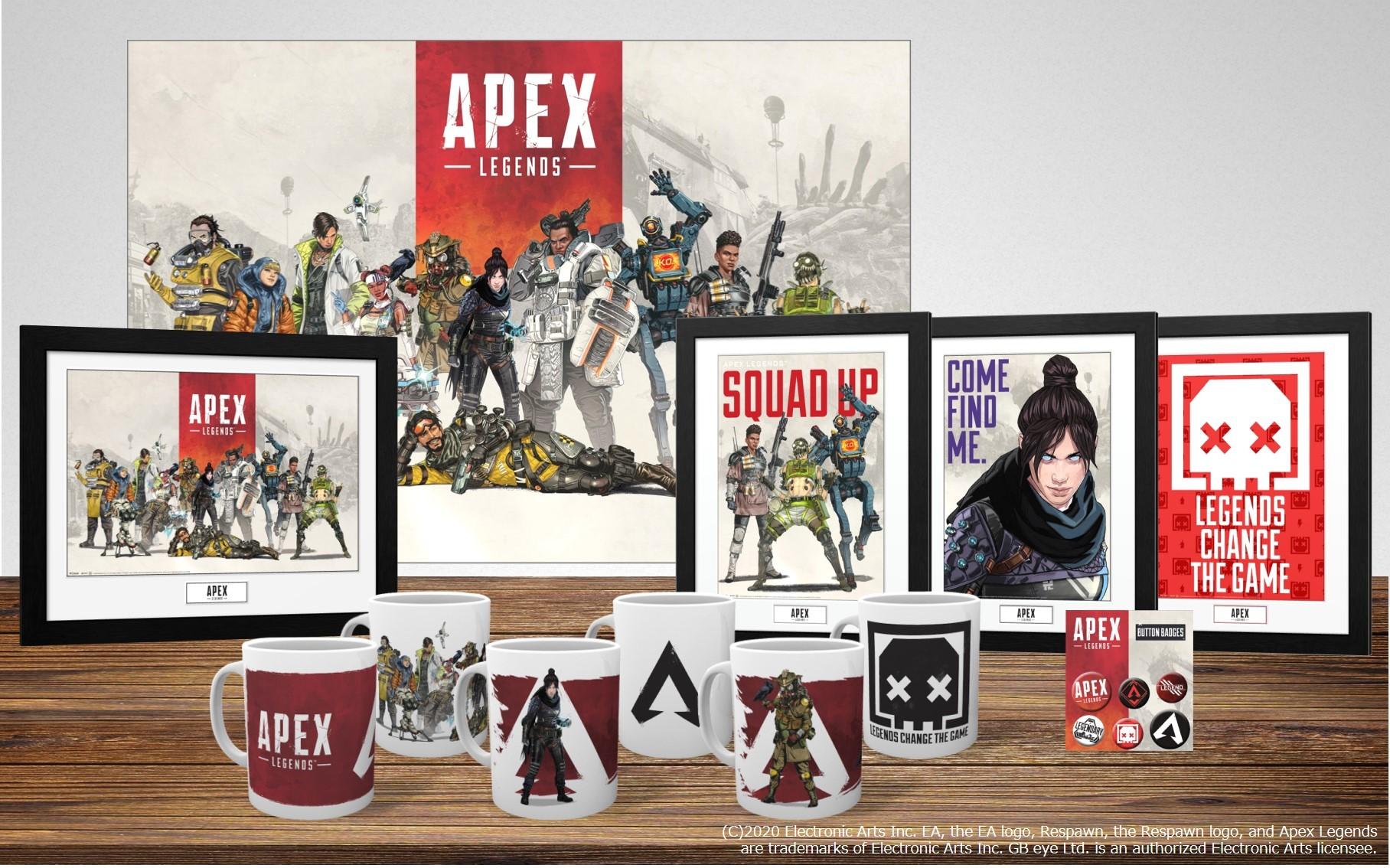 apexの人気グッズを紹介!